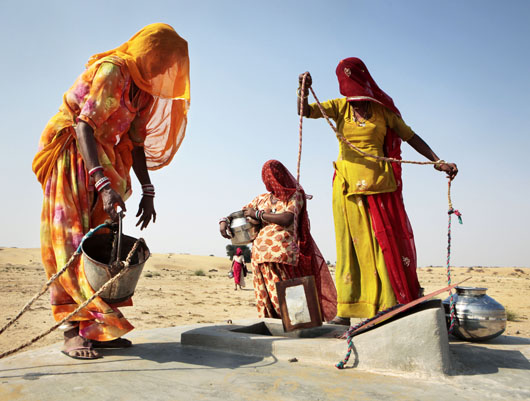 India, Rajasthan, Phalodi, January 2011 Copyright Dieter Telemans